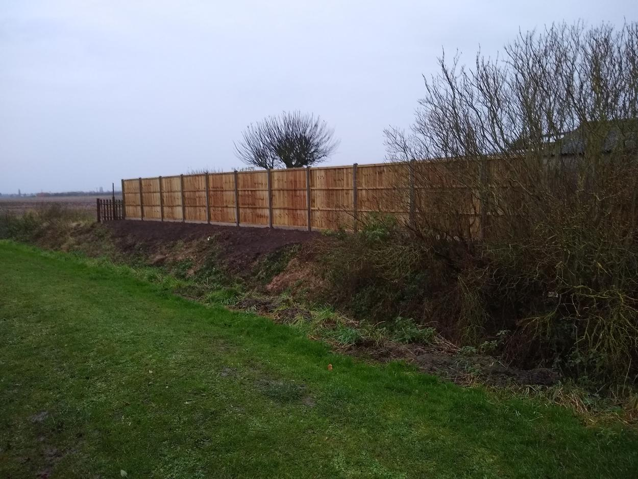 Fencing in Lincolnshire